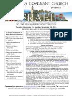 2011 Israel Trip - Lakehills Covenant Church