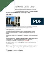 EL LINCONL CENTER