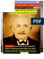 Protect Einstein Heritage From Empty Hawking  Theory-of-Everything  AND Dark-Energy Hoax