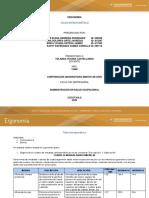 TALLER ANTROPOMETRICO - ERGONOMIA