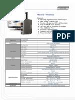 mTV_100_Datasheet