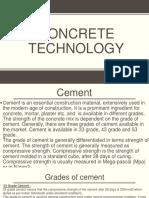 Concrete technology ppt