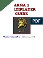 ARMA2 Multi Player Guide
