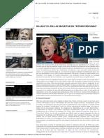 Hillary y el FBI_ Las revueltas del _estado profundo_ _ Katehon think tank. Geopolitics & Tradition