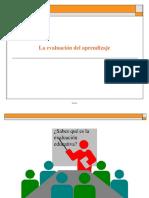 La evaluación del aprendizaje.pptx