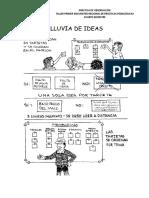 GUÍA PARA LA ELABORACIÓN DE LA LLUVIA DE IDEAS Y EL ENSAYO (1)