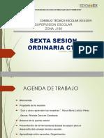 PRESENTACION 6A SESION ZONA ESCOLAR