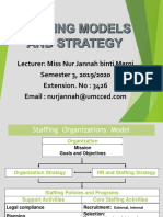 C1 Staffing Models and Strategy