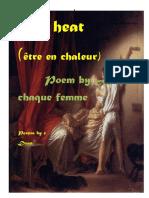 On heat-erotic poetry