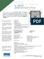 Wideband Power Sensor 5012
