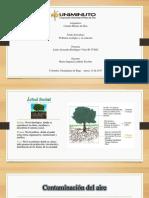 Propuesta Presentación de Un Problema Ecológico y Su Solución