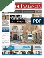"""""""El Periodico de Aquí"""" Valencia (febrero 2020)"""