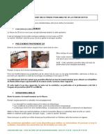 instructions prélèvement teneur PCB