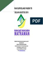 Cover Laporan Surveilans Bulan Agustus 2019