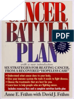 Cancer Battle Plan PDF By ANNE E. FRAHM and DAVID J. FRÄHM