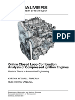 Combustion Analysis of Compressed Ignition Engines