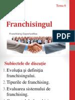 Tema 6 Franchisingul
