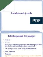 Etape Installation Joomla