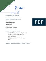 Plan général du module VPN