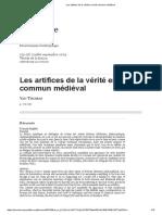 Les artifices de la vérité en droit commun médiéval.pdf