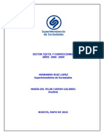 SECTORTEXTILYCONFECCIONES2006-2009