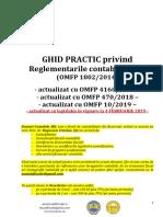 GHID reglementari contabile 2019