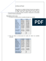 Estadísticas de la serie