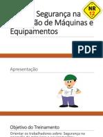 NR 12 - Segurança na Operação de Máquinas