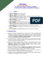 Procedura DIEF - privind deplasarile interne si externe