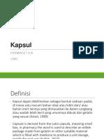 FARMASETIKA II_PERTEMUAN 3_KAPSUL