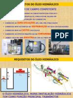 REQUISITOS DO OLEO HIDRAULICO