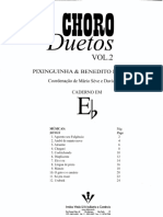 Choro duetos - Pixinguinha e Benedito Lacerda - v. 2 - Eb