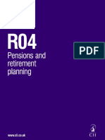 Pension Exam Key Facts