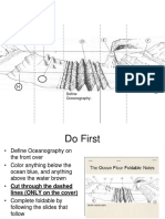 the ocean floor foldable notes