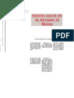 Istoria Sacra de La Avraam La Moise(80-215)