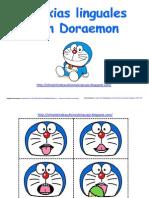 Praxias Linguales Con Doraemon