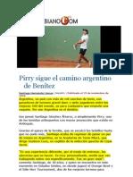 Pirry sigue el camino argentino de Benítez