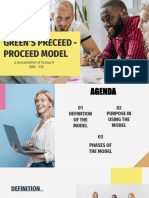 GREEN'S PRECEED PROCEED MODEL
