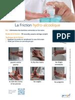 Comment bien se laver les mains à l'aide d'une solution hydro-alcoolique ?