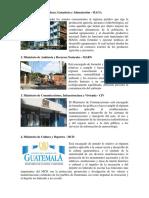 LOS 14 MINISTROS DE GUATEMALA