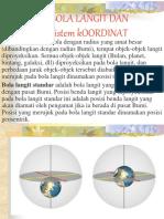Bola langit dan Sistem Koordinat