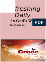 "Emphasis oN ""Grace"" March 2020"