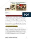 World War I and the Disintegration of Empires, 1910-1920