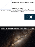 Notes – Motion Of Our Solar System In Our Galaxy.pdf