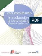 Bermejo José Carlos - Introducción al Counselling - Relación de ayuda