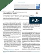 2019 Control de la diabetes mellitus tipo 2 basándose en el empoderamiento del paciente