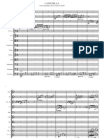 Partitura Canchilla Para Exámen
