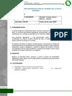 PLAN DE ACTIVIDADES DEPORTIVAS