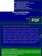 Clase de Contabilidad I. Rosa V. Ruiz