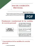 Medidas de coerción - Marco León Tomasto